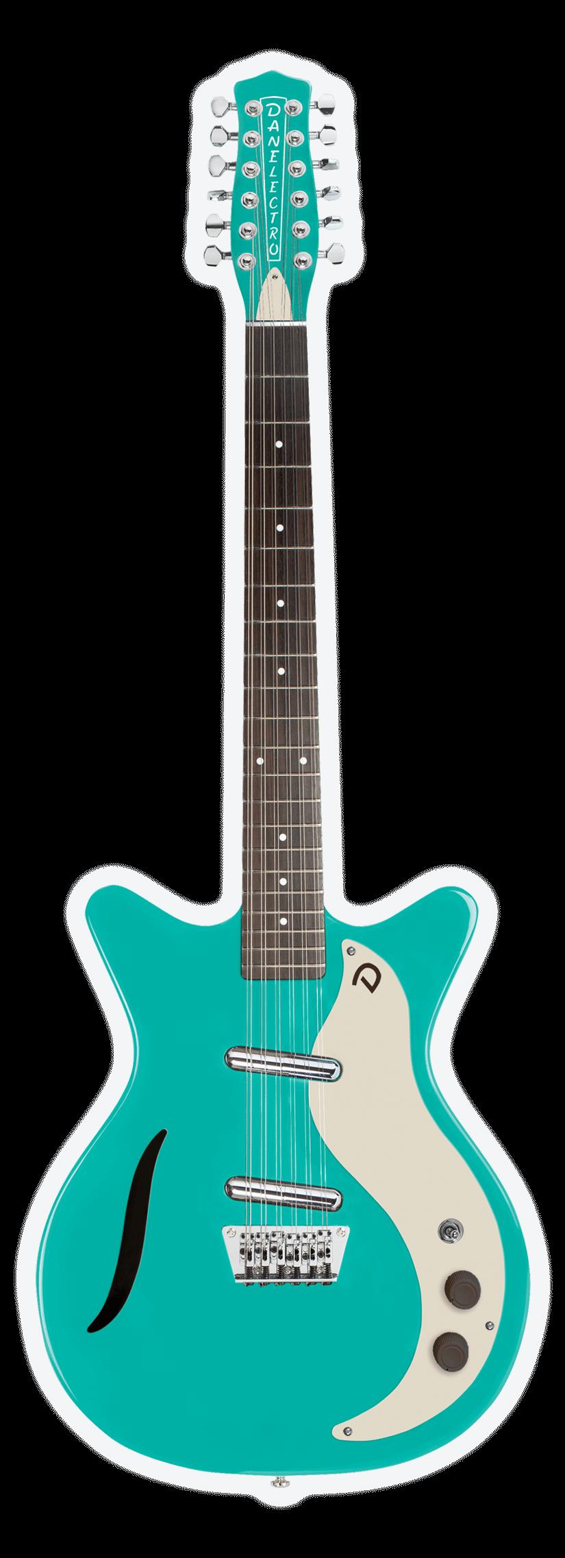 Vintage 12 String Amp Baritone Danelectro Guitars